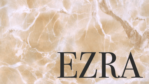 Stirred Up (Ezra 1-3)